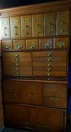oak barrister filing unit cabinet