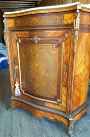 R J Horner credenza with marble top