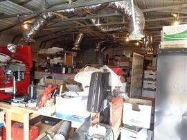 This is the HUGE Workshop BEFORE we complete our job