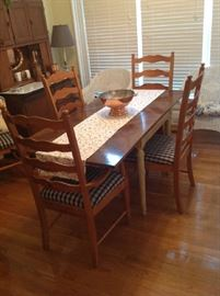 Table / 6 Chairs $ 300.00