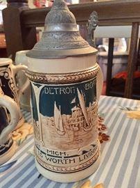 Detroit steins