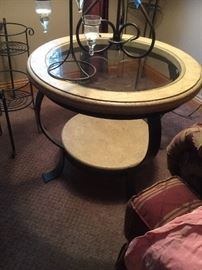 Coffee Table and two matching side tables