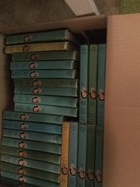 Cherry Ames hardcover books, volumes 1-26