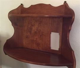 Vintage Curved Wall Shelf