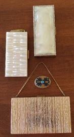 Vintage Cigarette Cases, Clutch and Pill Box