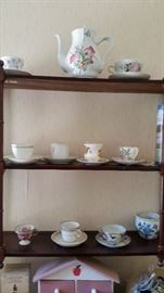 cup and saucer collection mostly england