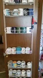 cup collection from different states. Large coffee cup collection over 5 boxes down stairs