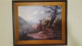 nice oil painting great for that man's office or den