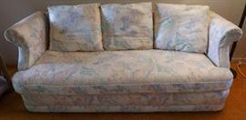 MFM002 Comfy Floral Upholstered Sofa