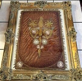 Framed Italian Chalice Veil