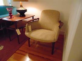 Niels Vodder NV53 Designer Finn Juhl (probably rosewood) Arm Chair