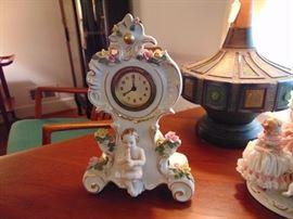 Porcelain Clock