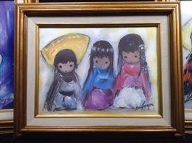 Ted Degrazia Prints Of Native Children