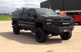 2015 Chevrolet Silverado Pickup Truck, VIN # 1GC1KWE85FF175995, Rocky Ridge Customization Package, 61609 Miles