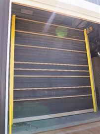 ABS Blast Systems Media Blasting Booth, Reclaim Floors, Electrical Panel, Rubber Roll Up Doors, Schmidt Blasting Pot, 18 Bank Cartridge Dust Collector