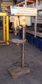 Powermatic Drill Press Model 1150A, Serial #9715V