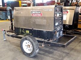 Lincoln Electric Vantage 300 Welder, Serial # U1110204656, 4479.7 Hrs With Kubota 22hp Engine With Original Manual