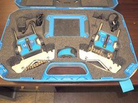 SKF TKSA 41 Laser Shaft Alignment System, In Original Hard Case, Appears Complete
