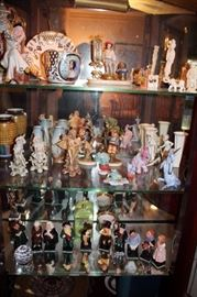 An Abundance of Beautiful Decorative Items - Fine Porcelain and Glass Including German and French