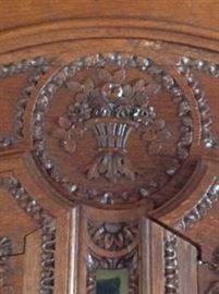 Detail Brittany region Country French cabinet