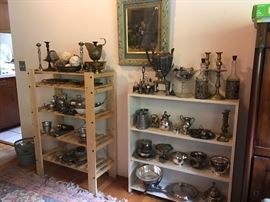 Antique Silver and Silver Plate