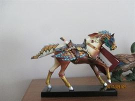 """Painted ponies"" collection 1st addition with box."