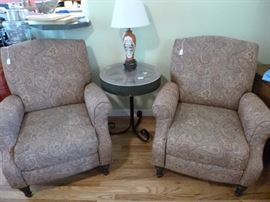 """Like new"" Lane recliners"