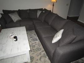 New J. Henry sectional sofa