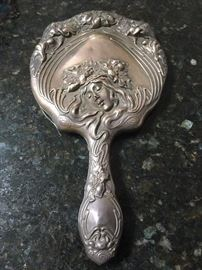 Unger Sterling Hand Mirror. Stay TUNED more jewelry will be added FRIDAY!