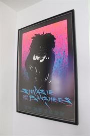 Vintage 1986 Siouxsie and the Banshees tour poster, numbered, by Stanley Mouse