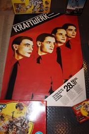 Vintage Kraftwerk poster, 1981
