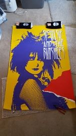 Siouxsie and the Banshees large format poster