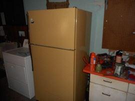 Garage fridge, ready to go