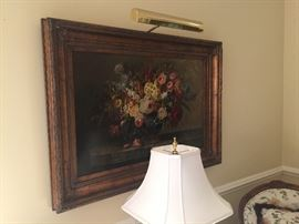 """Signed/Numbered 792/1950 Lt. Ed. Canvas by G. Harvey, Overall Framed Size 27"""" x 22"""""""