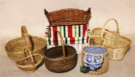 Array of baskets