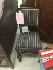 6 MATCHING CHAIRS $250 FOR ALL