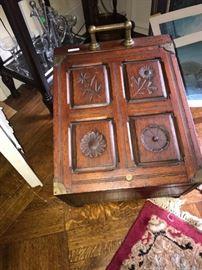 Victorian wood box