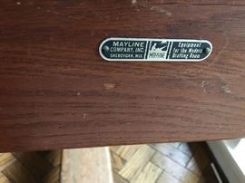 Mayline Company Drafting Table made in Sheboygan Wisconsin