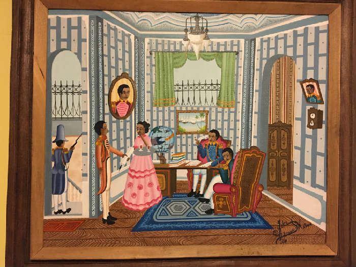 Royal Haitian Original Art