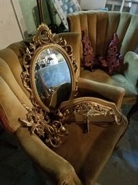 Chairs and love seat