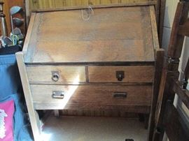 Arts and Crafts type desk