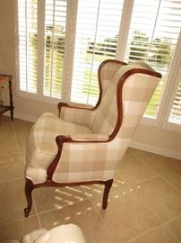 Ethan Allen Wing back chair