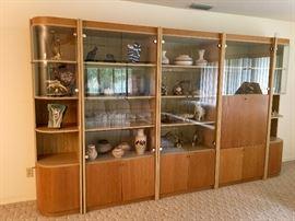 Beautiful display cabinets