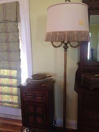 Tall Antique Floor Lamp.