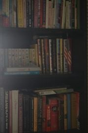 READERS LIBRARY AND BOOKCASES