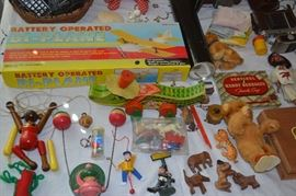 Vintage toys and dolls