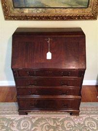 Mahogany Fall Front Desk