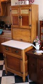 Small Hoosier Cabinet