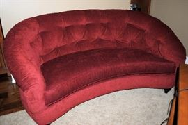Red Ruthanne Smithkoted sofa