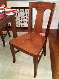 Pottery Barn dining room chairs (6)